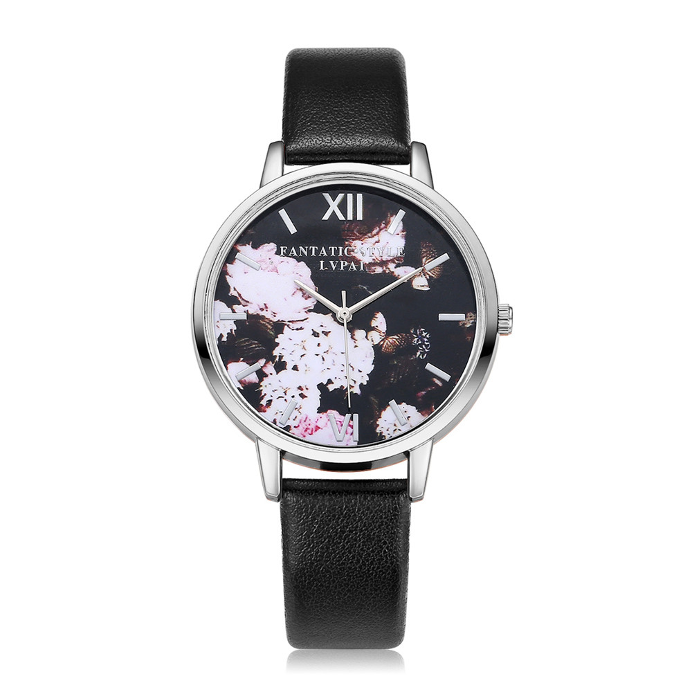 Fashion Relogio Feminino women watches Montre Femme leather band high quality watches super sale horloges vrouwen reloj mujer#5