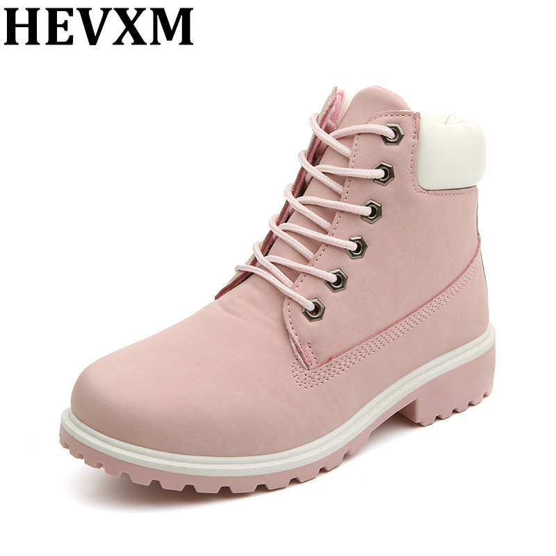 buy hevxm 2016 top quality comfortable women boots leather platform shoes suede. Black Bedroom Furniture Sets. Home Design Ideas