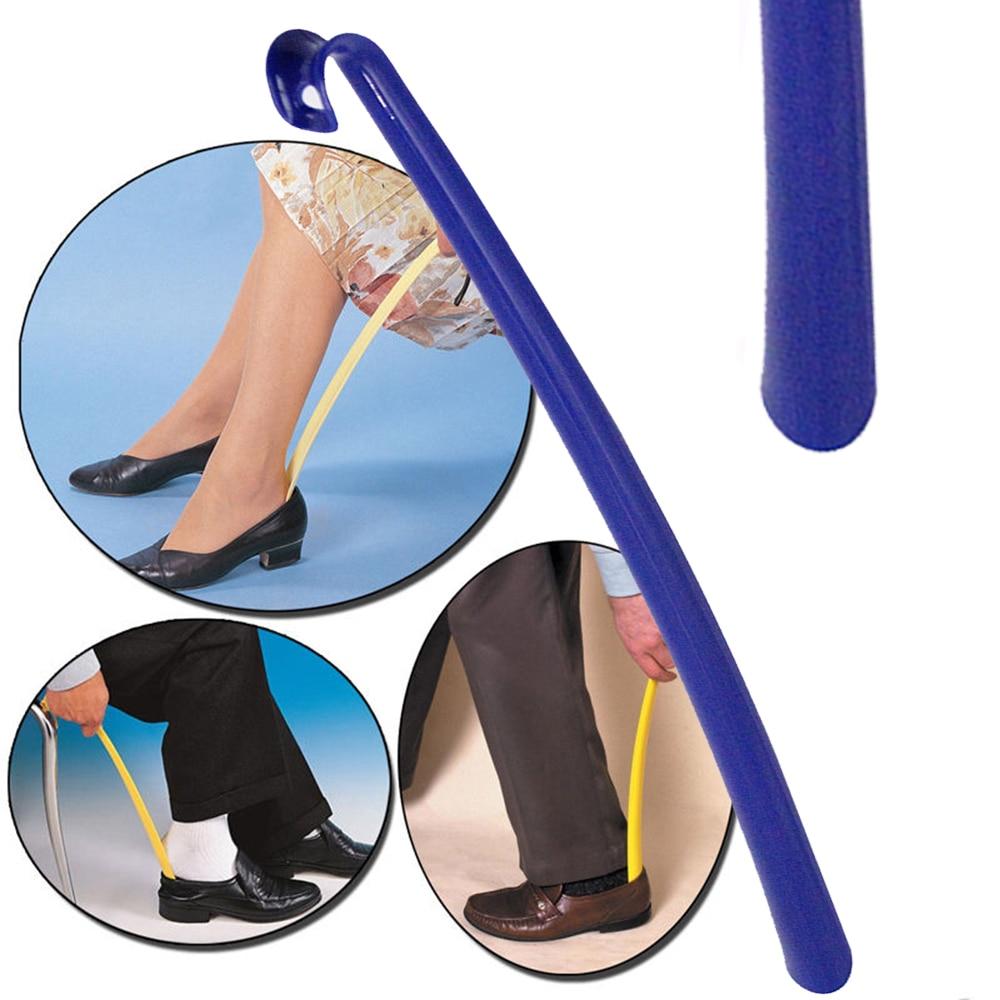 Setzen Auf Off Schuhe Für Kind Ältere Und Verwundeten Schwangere Frauen Stetig 42 Cm Kunststoff Schuhlöffel Keine Biegen Schuh Horn Schnelle Und Einfache Möglichkeit