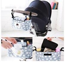 лучшая цена Stroller Bag Baby Diaper Changing Bag Liner Multi-functional Waterproof Diaper Bags For Baby Care