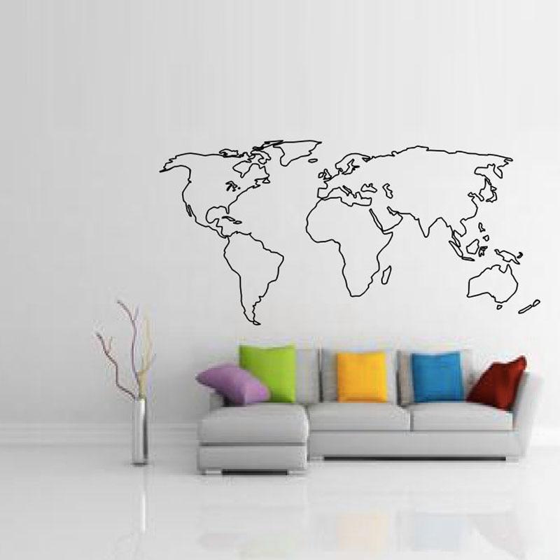 Aliexpress.com : Buy BucKoo hot wall stickers Large World