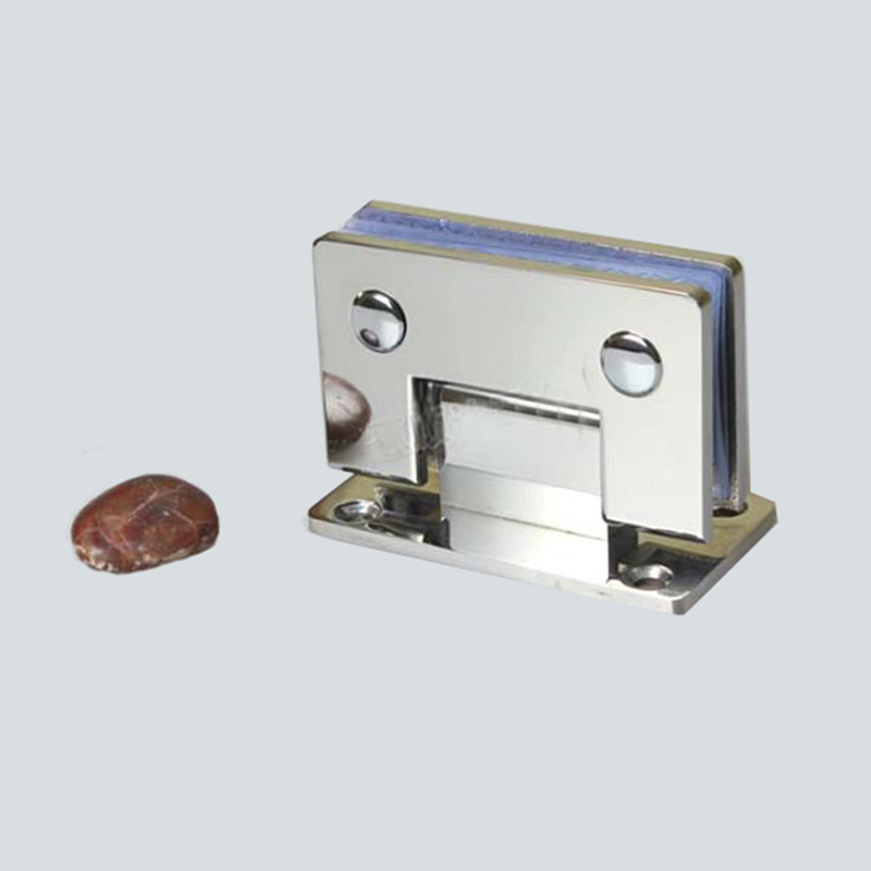 Hotsale 304 Stainless Steel 90 Degree Wall Mount Shower Bathroom Glass Door Hinges Frameless Shower Glass Clamps Fixed Holder
