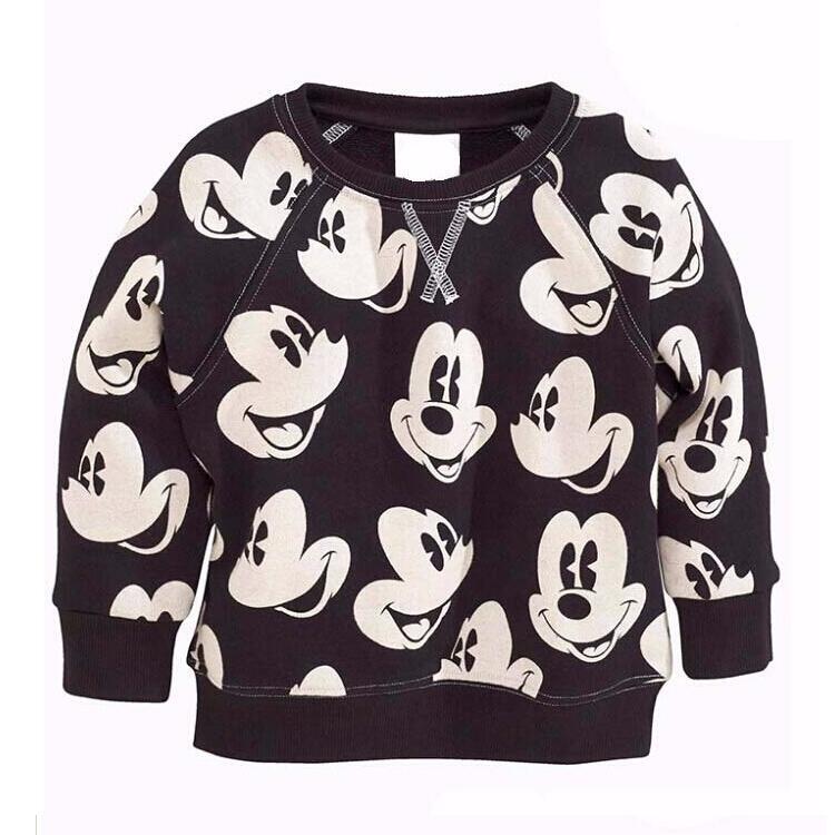 Yeni Mickey Boys Pajama, Bahar xarakterini təyin - Uşaq geyimləri - Fotoqrafiya 2