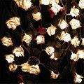2017 Multicolor Decoração. Rosa LEVOU Bateria Luzes Da Corda para a Festa de casamento Evento Decoração Do Aniversário Do Natal Iluminações Casamento