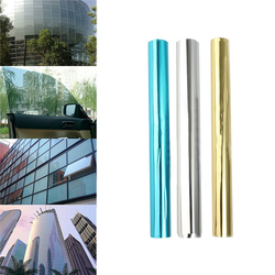 100CM Solar Reflective Mirror Insulation Window Film Tint Self Ahesive Privacy Glass Sticker Home Sunscreen Films One Way