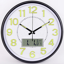 Buy lighted wall clock and get free shipping on AliExpress com