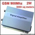 2 W 3000 metros quadrados adequado, 75DB ganho, GSM booster, GSM repetidor, 900 Mhz booster, GSM ampliador, 900 Mhz repetidor, shippping Livre