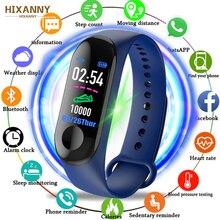 Купить с кэшбэком 2019 Smart Watch Waterproof Fitness Bracelet Blood Pressure Heart Rate Monitor band Bluetooth Push for Xiao mi IOS Android Phone
