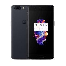 Новый бренд Oneplus 5 4G LTE мобильный телефон 5,5 «8 ГБ ОЗУ 128 Гб ПЗУ Snapdragon 835 Восьмиядерный Gooele play Android двойной сим смарт-телефон