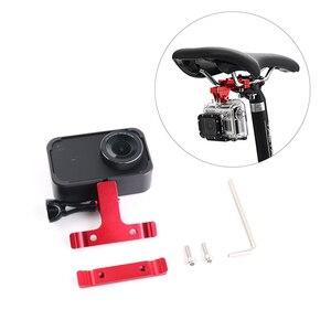 Image 5 - Aluminum Bike Bicycle Saddle Bike Seat Mount Tripod Holder Bracket Adapter Clamp for Gopro Hero 7 SJCAM Yi 4k mijia camera