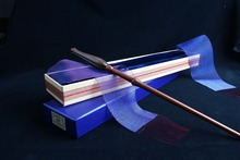 Newest Iron Core luna Tulips Lovegood Magic Wand/Harry Magical Wand/ Original Ribbon Gift Box Packing Free Train Ticket