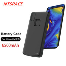External Battery Charger Cases For Xiaomi MIX 3 Power Bank Case 6500mAh Backup Portable Charging
