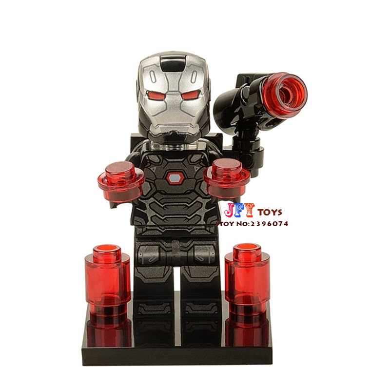 50pcs superhero clvil war War machine building blocks bricks friends for girl boy kids children toys
