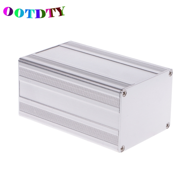 OOTDTY Excellent 100x65x50mm DIY Aluminum Enclosure Case Electronic Project PCB Instrument Box