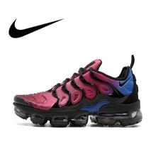 NIKE AIR VAPORMAX плюс Для мужчин дышащие Беговая Спортивная обувь Кроссовки Одежда высшего качества спортивная Дизайнерская обувь 2018 Новый AO4550-001