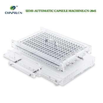 CapsulCN, 204 S/taille 0 # remplisseur semi-automatique de capsule/encapsulateur/Machine de remplissage de Capsule/capsuleur de Capsule/Machines d'encapsulation