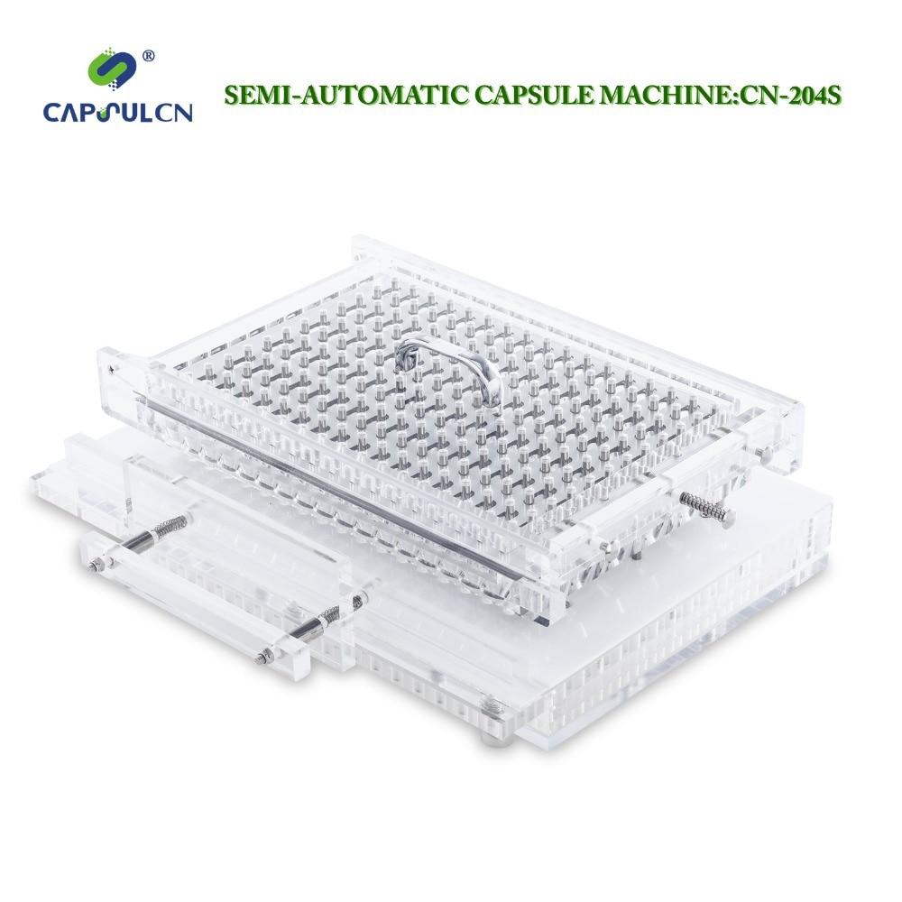 CapsulCN... 204 S/tamaño 0 # llenador de cápsulas semiautomático/encapsulador/máquina de llenado de cápsulas/captador de cápsulas/encapsulado máquinas
