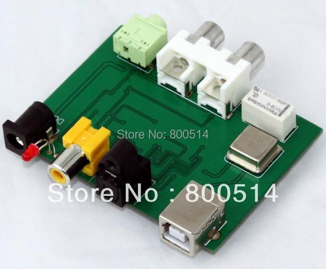 Assembled CM102S + SGM8054 + CS8416 DAC board (USB + coaxial +Optical)