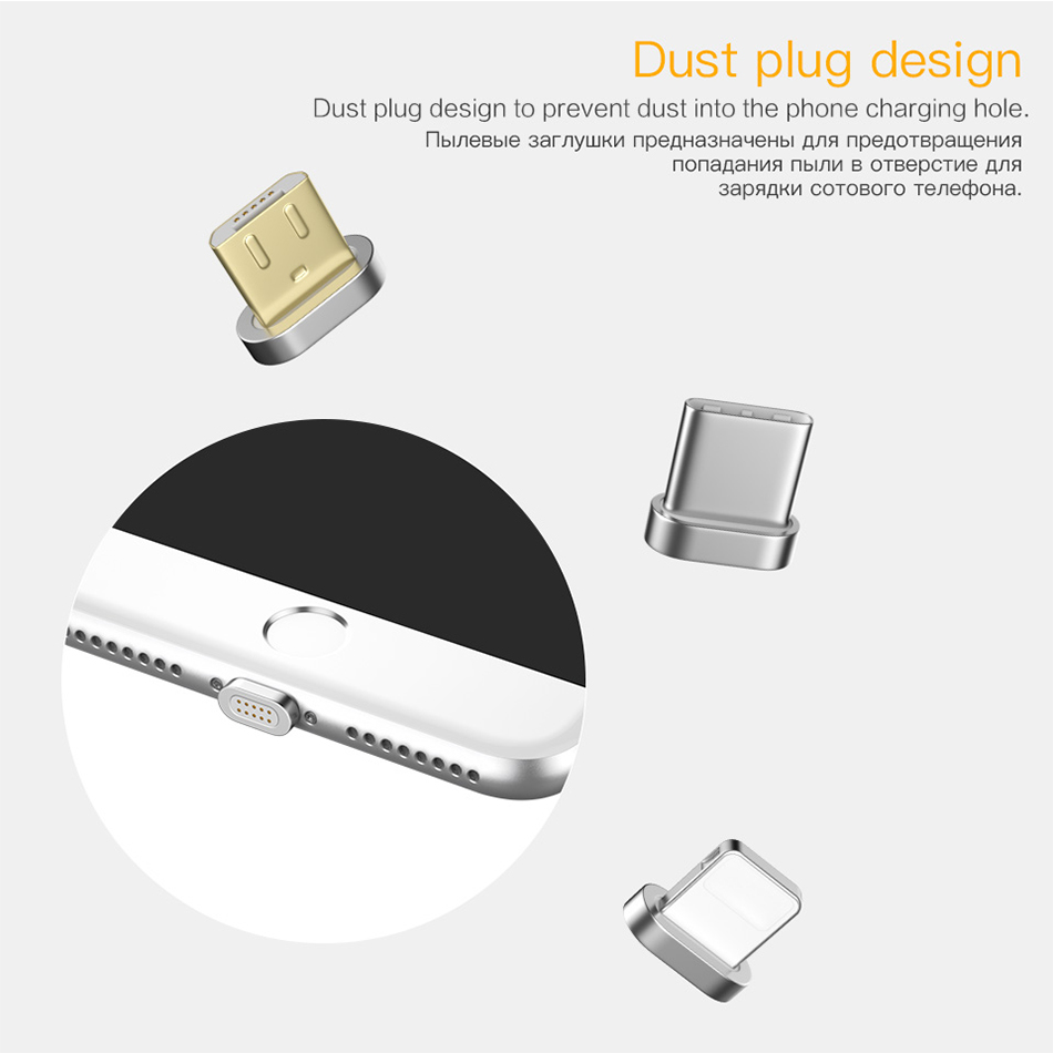 PZOZ Usb Type C Magnetic Adapter Charger Usb C Cable Magnetic Charging Cable For Samsung S9 xiaomi redmi note 7 Mobile Phone 7