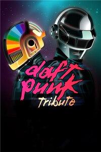 Niestandardowe Daft Punk plakat Daft Punk kask naklejki czarna maska tapety DJ gwiazda zespół muzyczny naklejki ścienne dla dzieci wystrój domu # PN #2445 #