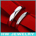 Simple rings/sterling silver rings/ oem jewelry/ by china post office