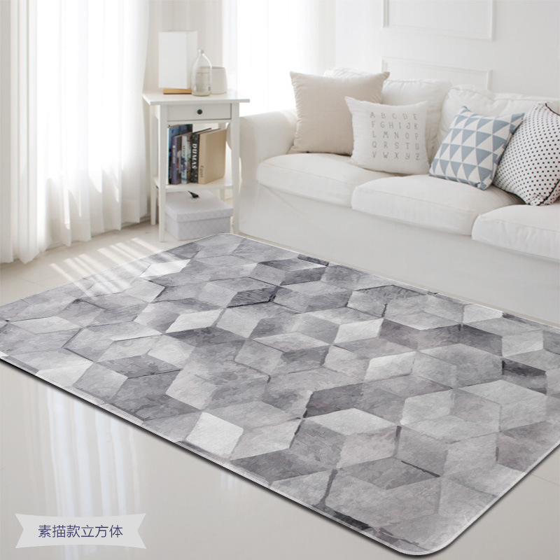 Rectangle Geometric Large Area Rugs