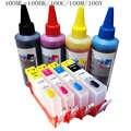Kompatybilne wkłady atramentowe do wielokrotnego napełniania hp 364 + 400ml atramenty barwiące do hp Photosmart 5510 5520 6510 6520 7510 7520 e-all-in-one