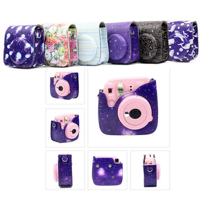 Image 2 - Carry PU Instant Camera Bag Case Cover with Shoulder Strap Camera for Fujifilm Instax Mini 8/9/8