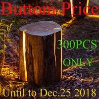 Wholesale Outdoor Fiber landscape Lawn Lamp villa garden bra park decorative Light imitation tree stump lighting tuinverlichting
