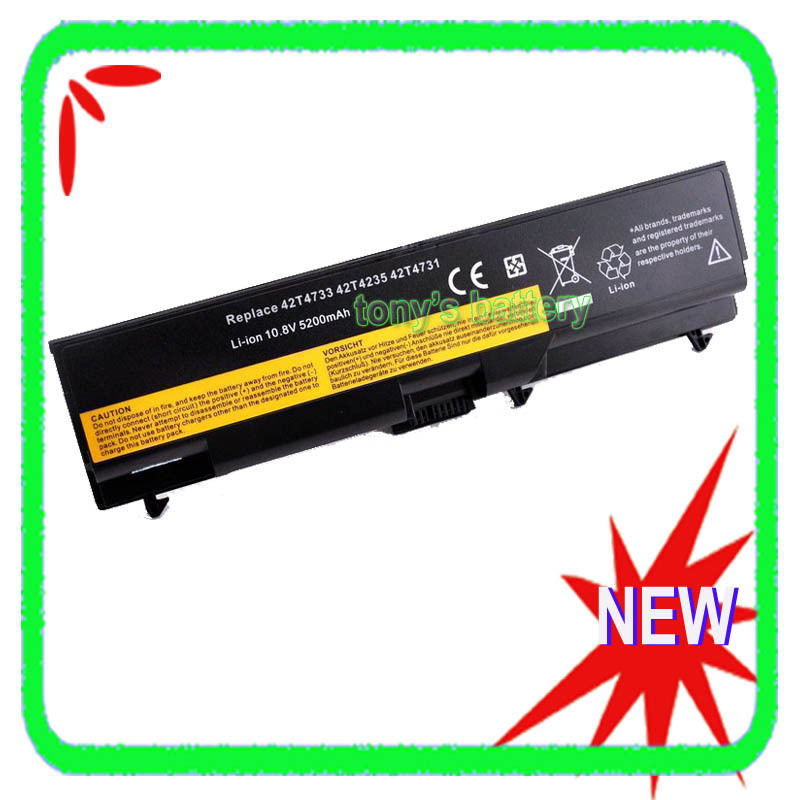 5200mAh <font><b>Battery</b></font> for <font><b>Lenovo</b></font> ThinkPad T430 T430i <font><b>L430</b></font> L530 T530 T530i W530 W530i 45N1001 45N1000 45N1005 45N1004 image