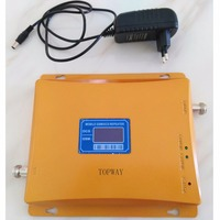 LCD Display 900mhz 18000mhz DCS GSM Dual Band Mobile Signal BOOSTER REPEATER Signal Amplifier
