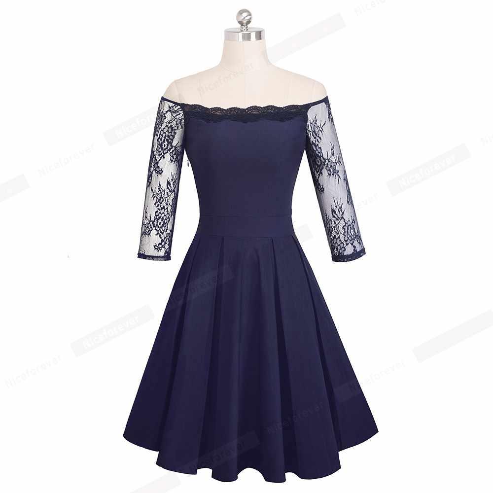 Женское Сексуальное цветочное кружево с открытыми плечами, рукав А-силуэта, вечерние платья черного цвета, винтажное платье-футляр, облегающее платье HA071
