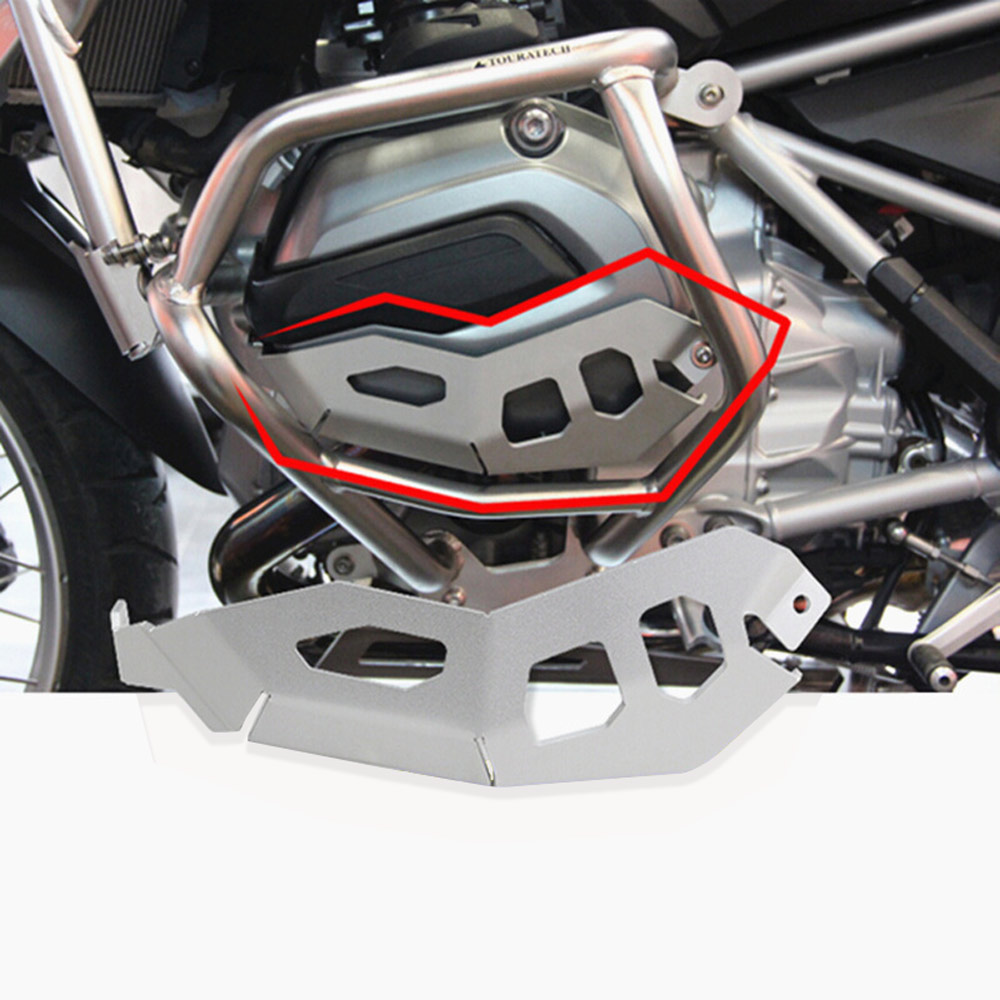 Motorcycle Cylinder Head Guards Protector Cover For BMW R1200GS Water Cooled R 1200 GS ADV 2014 2015 2016 2017 R1200GS LC / ADV