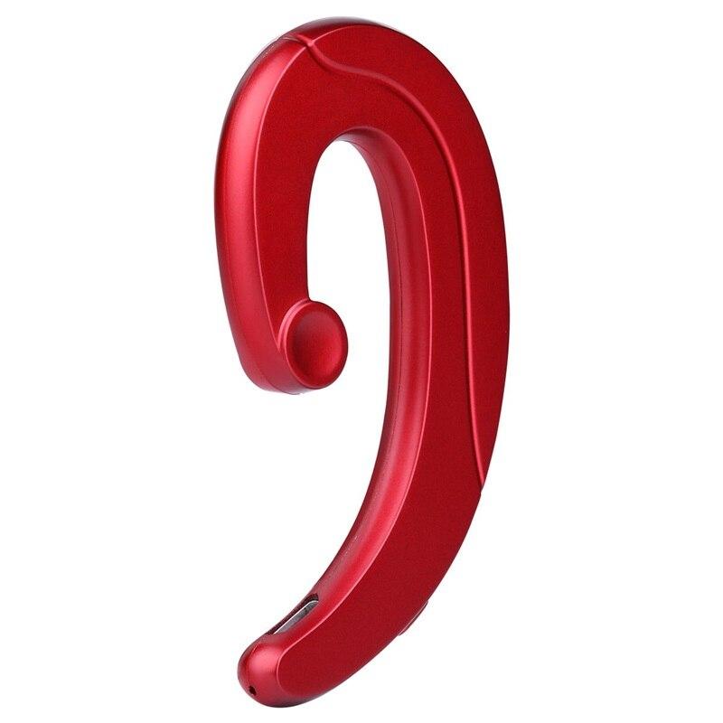 Mini Wireless Bluetooth Headset No Earplugs Design Earphone with Mic Bone Conduction Bluetooth headphone for iPhone Android mini no pain wear wireless headset lossless music earphone with mic bone conduction bluetooth headphone for iphone android