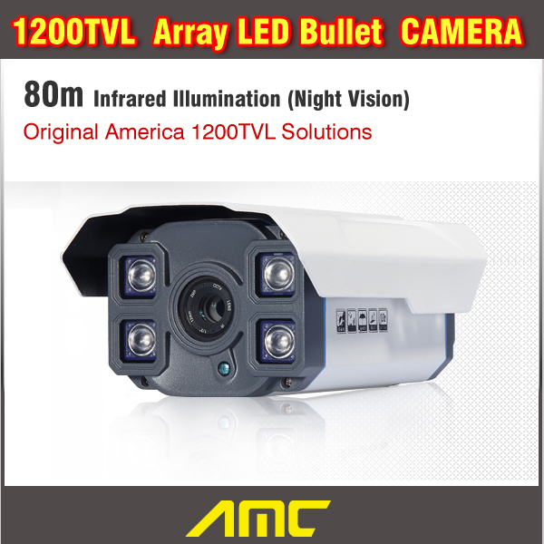 CCTV Camera 1200TVL Outdoor HD IR-CUT Filter Waterproof Security Camera Night Array LED CCTV Video Camera free shipping new 1 3 sony ccd hd 1200tvl waterproof outdoor security camera 2 pcs array led ir 80 meter cctv camera