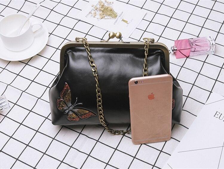 Women Handbags PU Leather Shoulder Crossbody Bags Handbag Female vintage fashion Famous Brand Women Bags (21)