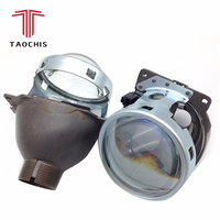 TAOCHIS For Auto Car Headlight 3.0 inch KOITO Q5 H4 Bi xenon Projector Lens Retrofit Hid Xenon D2S D2H Bulbs Modify Optical lens
