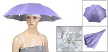 Nylon Umbrella Headwear Hat for Outdoor Fishing