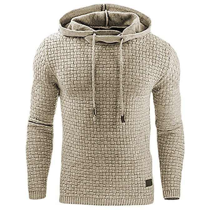 2020 yeni Hoodies erkekler marka erkek ekose kapşonlu kazak Mens Hoodie eşofman ter Coat gündelik spor giyim M-4XL damla nakliye