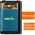 2 pcs original lcd touch screen digitador para samsung galaxy note 4 edge n915f sm-n915 n915g n915 n9150 black & white
