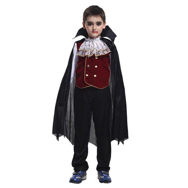 Vashejiang Kinder Vampir Kostum Kinder Halloween Karneval Kostum Fur
