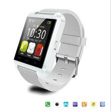 Kostenloser Versand Bluetooth Smart Uhr U8 Uhr Armbanduhren Wasserdicht Passometer Smartwatch FÜR IOS Android-Handy