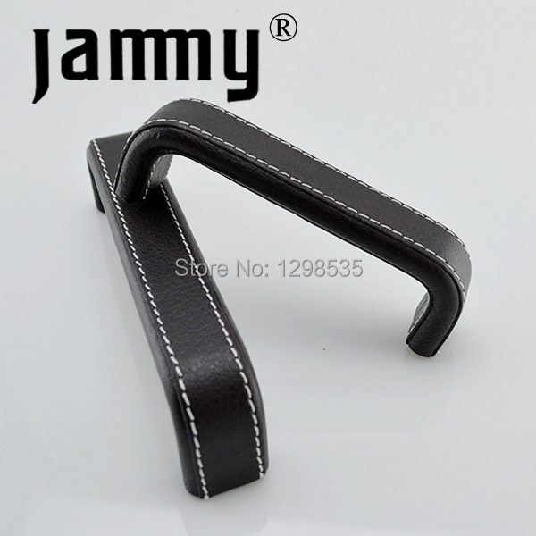 Free Shipping 5pcs 2015 96MM Leather Handles Furniture