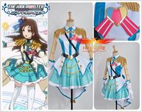The Idolmaster 2 Cinderella Girls Rin Shibuya OP Cosplay Costume Custom Made Women Uniform Jacket Outfit Clothing Dress Socks