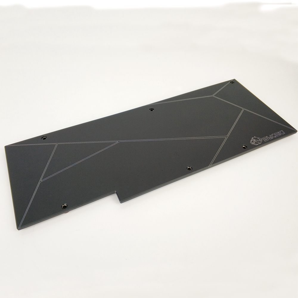 Bykski Metal Backplate Use For NVIDIA RTX 2080Ti/2080 Founders Edition Block/Only Compatible Bykski RTX2080TI/2080 3mm Thickness