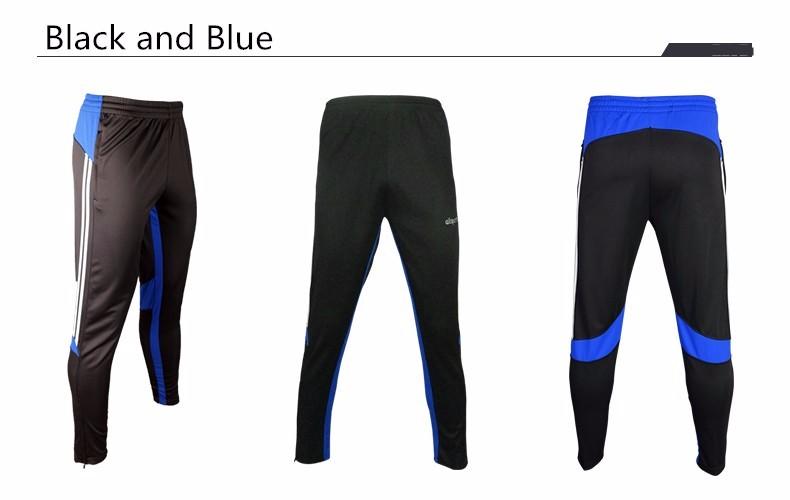 Soccer Training Pants Men Joggers Slim Skinny Jogging Running Tights Trousers Tracksuits Bottoms survetement football 2017 4