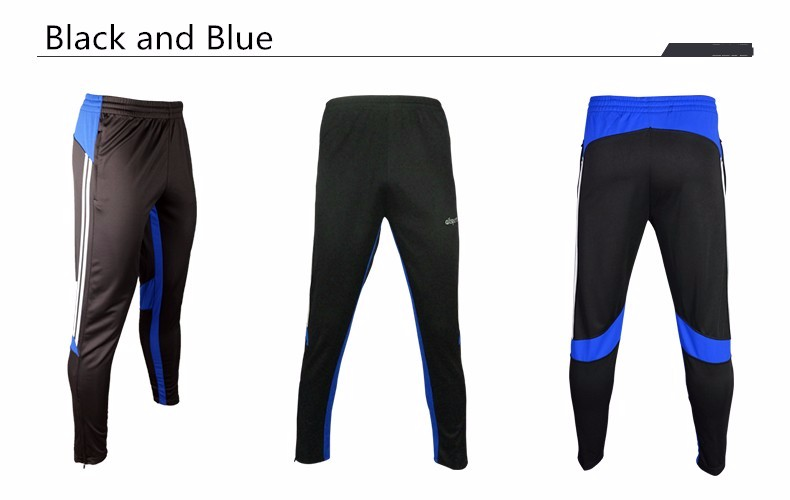 Soccer Training Pants Men Joggers Slim Skinny Jogging Running Tights Trousers Tracksuits Bottoms survetement football 2017 4