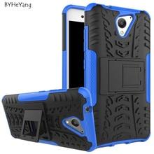 Для ZTE Blade A510 Case 5.0 дюймов ТПУ & PC Dual Броня Капа с Подставкой Жесткий Силиконовый Чехол Для ZTE A510 510 Телефон Сумка Case