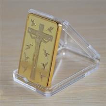Hot sale JESUS CHRIST Ten Commandments BULLION Bar souvenir Coin gift, DHL free shipping 50pcs/lot, майка print bar personal jesus