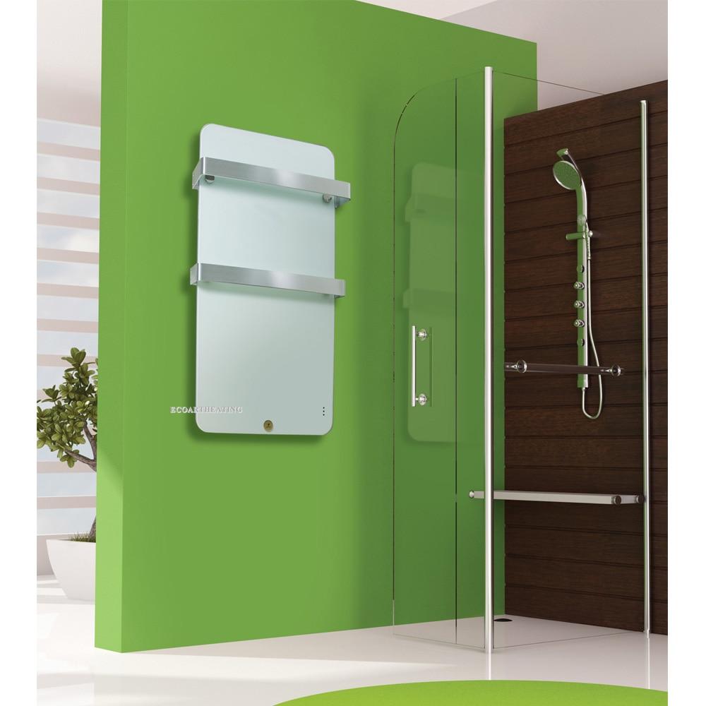 Elektrische Badezimmer-Heizkörper-Heizung mit zwei Handtuchhalter - Haushaltsgeräte